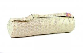 Golden Spirals Yoga Bag