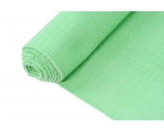 Organic Yoga Rug Grass Green
