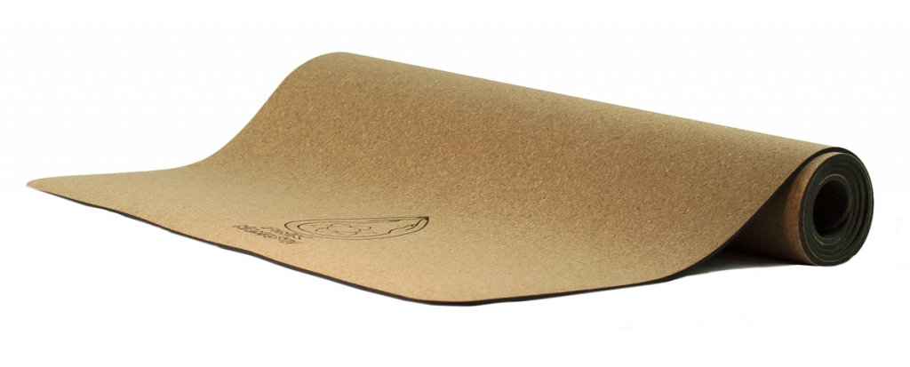 Eco Cork and Natural Rubber Yoga Mat