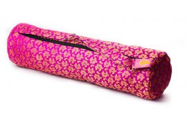 Pink Flame Yoga Bag