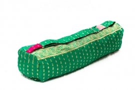 Green Ray Yoga Bag