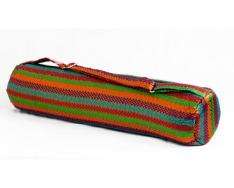 Rainbow Weaver Yoga Bag