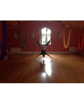 Aerial Yoga 6 week Workshop - learn to fly!